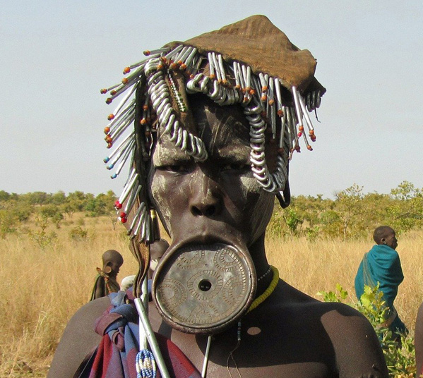 Women's Travel Club Ethiopia Tour - Mursi Tribe